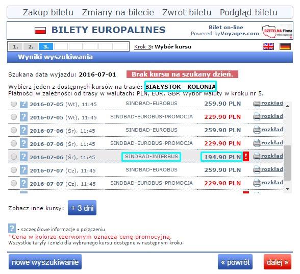 Autobusy do Niemiec z Białegostoku