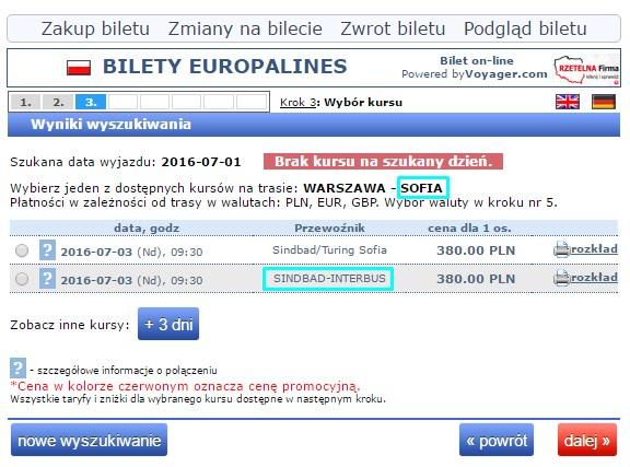 Warszawa Bułgaria autokar