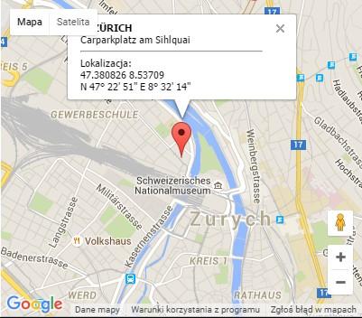 Wyjazdy z Zurychu do Polski